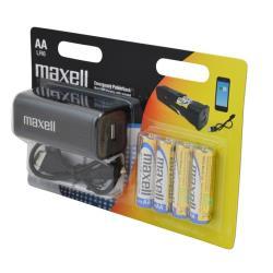 MAXELL - PowerBank c/ pilhas alcalina 790415.00.CN