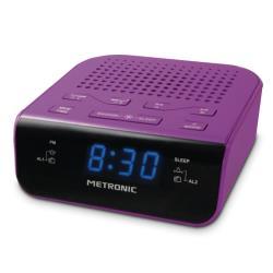 METRONIC - Rádio Alarme Lilás 477012