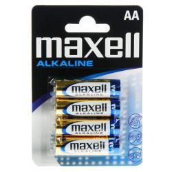 MAXELL-PILHASUPERALC.1,5VLR6(AA)BL4-774409.04.EU