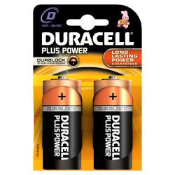 DURACELL - Pilha Alc Plus Power D BL2 LR20-MN1300