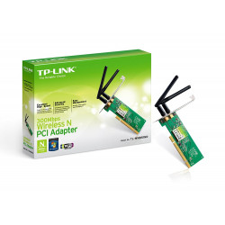 TP-LINK- 300MBPS Wireless N PCI Adapter TL-WN851ND