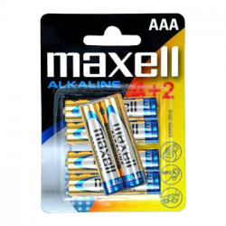 MAXELL- Pilha AL.1,5VLR03(AAA)BL4+2 790240.04