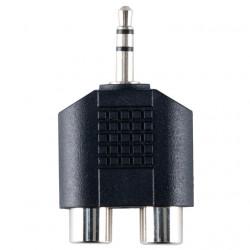BANDRIDGE - Adaptador 3.5M - 2x 3.5F VAP432