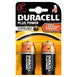 DURACELL - Pilha Alc Plus Power C BL2 LR14-MN1400