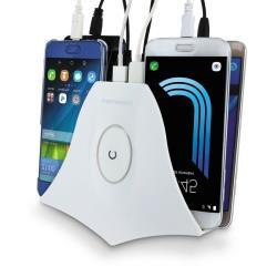 METRONIC - Dock Carregador 4 Portas USB 495030