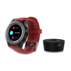 MAXCOM - Smartwatch FW17 Power Titanium/Red