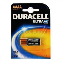DURACELL - Pilhas Alcalinas 1,5V LR61 / AAAA Bl2