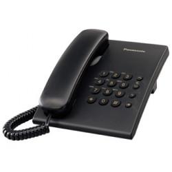 PANASONIC - Telefone Preto KX-TS500EXB