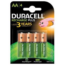 DURACELL - Reca. AA 1,2V 1300mAH- HR6 Bl4