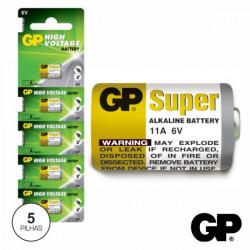 GP - Pilhas alcalinas 6V Comando GP11A Blister 5