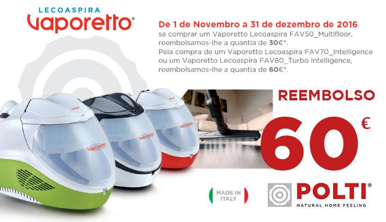 Reembolso 60€ - Lecoaspira Vaporetto