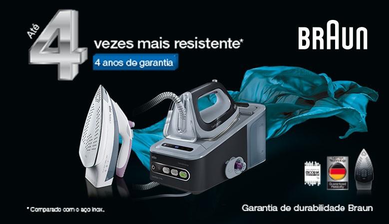 BRAUN - 4 ANOS GARANTIA