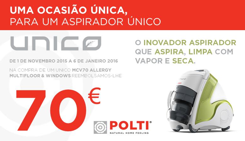 POLTI - Reembolso 70 €